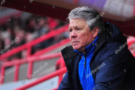 Steve Perryman, Director of Football of Exeter City during the Sky Bet League 2 Match between Exeter City and Swindon Town at St James Park, Exeter, Devon on March 24.