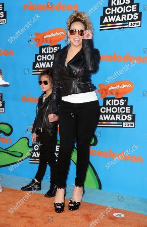 Monroe Cannon and Mariah Carey