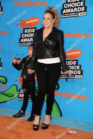 Mariah Carey and Monroe Cannon