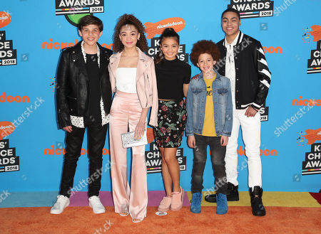 Editorial image of Nickelodeon Kids' Choice Awards, Arrivals, Los Angeles, USA - 24 Mar 2018