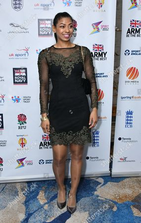 Editorial image of British Ethnic Diversity Sports Awards, Arrivals, London, UK - 24 Mar 2018