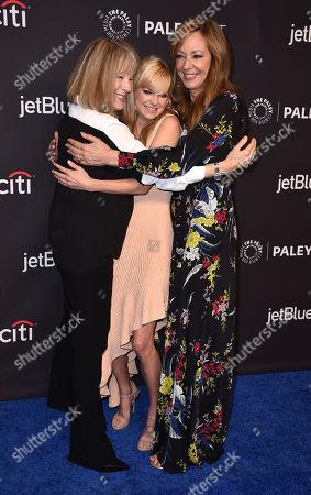 Mimi Kennedy, Anna Faris and Allison Janney