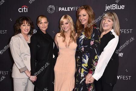 Beth Hall, Jaime Pressly, Anna Faris, Allison Janney, Mimi Kennedy