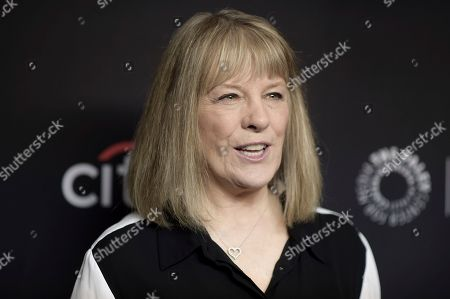 """Mimi Kennedy attends the 35th Annual Paleyfest """"Mom"""" at the Dolby Theatre, in Los Angeles"""