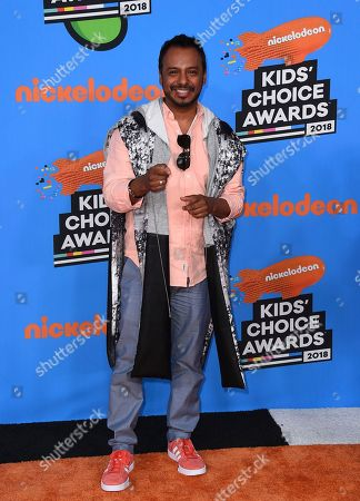 Editorial photo of 2018 Kids' Choice Awards - Arrivals, Inglewood, USA - 24 Mar 2018