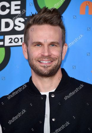 John Brotherton arrives at the Kids' Choice Awards at The Forum, in Inglewood, Calif