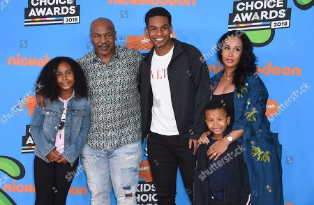 Editorial image of 2018 Kids' Choice Awards - Arrivals, Inglewood, USA - 24 Mar 2018