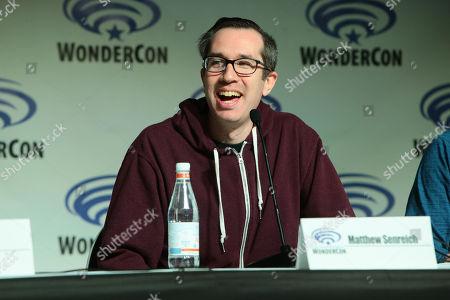 Writer/Creator/Exec. Producer Matthew Senreich