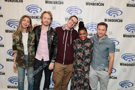 Heidi Gardner, Writer/Director/Creator/Exec. Producer Zeb Wells, Writer/Creator/Exec. Producer Matthew Senreich, Yvette Nicole Brown and Breckin Meyer