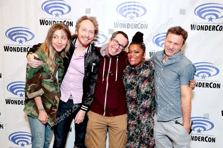Editorial picture of Crackle's Emmy-nominated comedy series 'SuperMansion' TV Show at 2018 WonderCon, Anaheim, USA - 24 Mar 2018