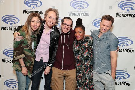 Editorial photo of Crackle's Emmy-nominated comedy series 'SuperMansion' TV Show at 2018 WonderCon, Anaheim, USA - 24 Mar 2018