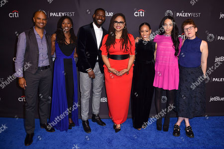 Editorial photo of 'Queen Sugar' TV show presentation, Arrivals, Paleyfest, Los Angeles, USA - 24 Mar 2018