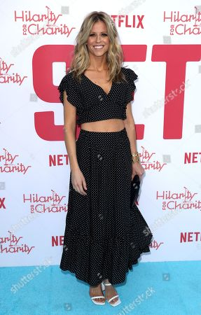Stock Photo of Katrina Begin arrives at the 6th Annual Hilarity For Charity Los Angeles Variety Show at the Hollywood Palladium, in Los Angeles