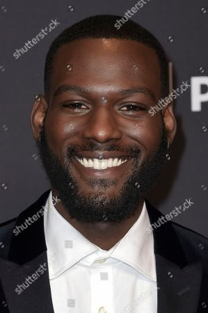"Kofi Siriboe attends the 35th Annual Paleyfest ""Queen Sugar"" at the Dolby Theatre, in Los Angeles"