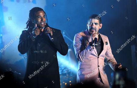 Roldan and Yotuel Romero