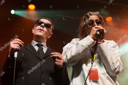 Editorial picture of Alabama 3 in concert, O2 Ritz, Manchester, UK - 24 Mar 2018