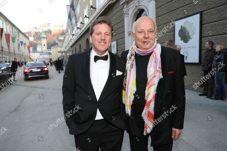 Rolf Sachs (rechts) and Christian Jott Jenny