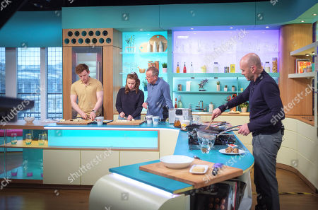Callum Woodhouse, Daisy Waterstone, Tim Lovejoy and Simon Rimmer