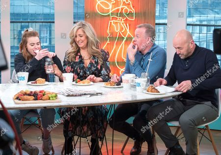 Daisy Waterstone, Tracy-Ann Oberman, Tim Lovejoy and Simon Rimmer