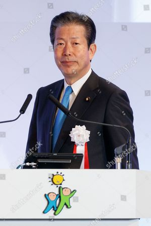 Natsuo Yamaguchi leader of the New Komeito Party attends the 85th Liberal Democratic Party's national convention