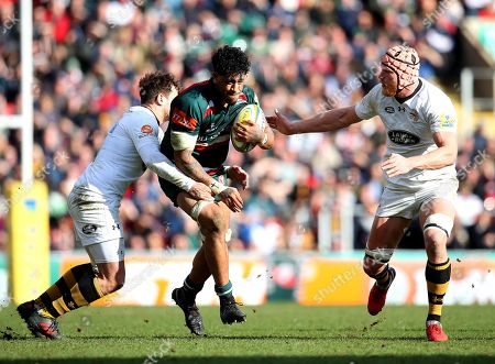 Editorial picture of Leicester Tigers v Wasps, UK - 25 Mar 2018