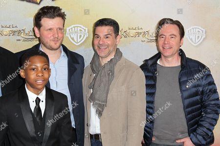 Stock Photo of Salomon Gordon, Dennis Gansel (Regisseur), Rick Kavanian, Michael Bully Herbig,..