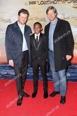 Stock Image of Dennis Gansel (Regisseur), Henning Baum, Salomon Gordon, ..