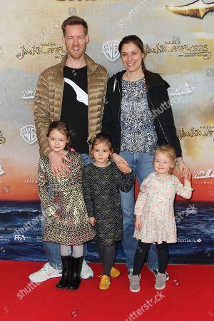 Stock Picture of Herbert Kloiber mit Ehefrau Julia and Kinder (Bei den Kinder keine Namensnennung erwuenscht),..