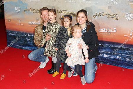 Herbert Kloiber mit Ehefrau Julia and Kinder (Bei den Kinder keine Namensnennung erwuenscht),..