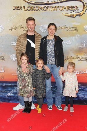 Stock Photo of Herbert Kloiber mit Ehefrau Julia and Kinder (Bei den Kinder keine Namensnennung erwuenscht),..