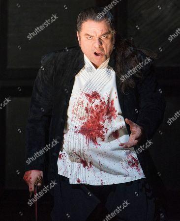 Stock Picture of Zeljko Lucic as Macbeth