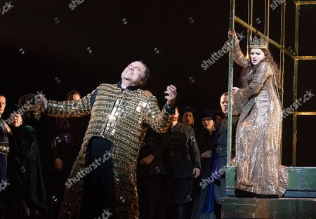 Editorial picture of 'Macbeth' Opera performed at the Royal Opera House, London, UK, 22 Mar 2018