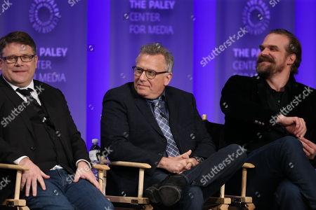 Sean Astin, Paul Reiser and David Harbour