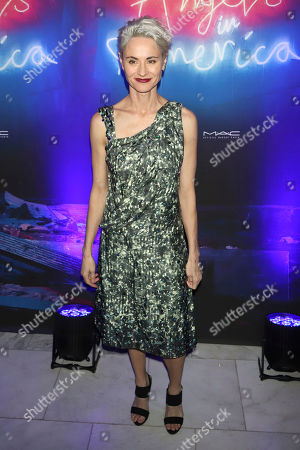"Stock Picture of Beth Malone attends the after party for the ""Angels in America"" Broadway revival opening night at Espace, in New York"