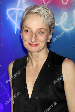 """Stock Picture of Amanda Lawrence attends the after party for the """"Angels in America"""" Broadway revival opening night at Espace, in New York"""