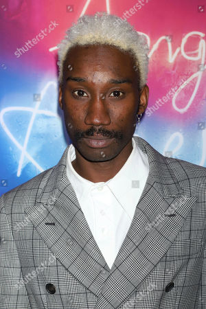 """Nathan Stewart-Jarrett attends the after party for the """"Angels in America"""" Broadway revival opening night at Espace, in New York"""