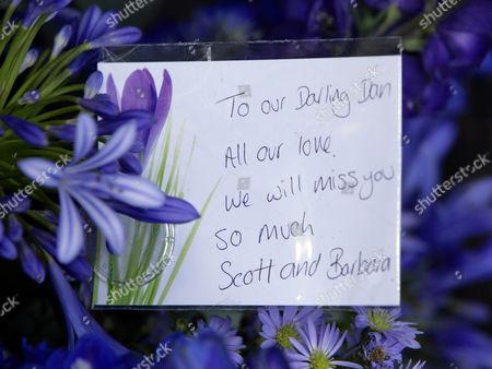 Flowers from Barbara Windsor