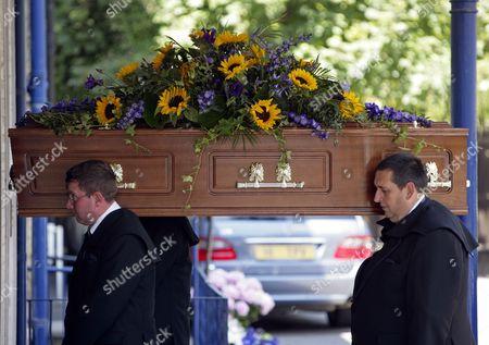 Danny La Rue's coffin