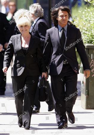 Barbara Windsor and husband Scott Mitchell