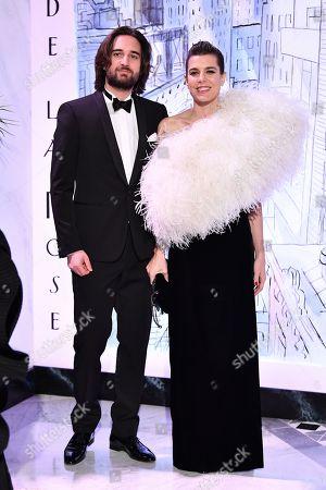 Dimitri Rassam and Charlotte Casiraghi