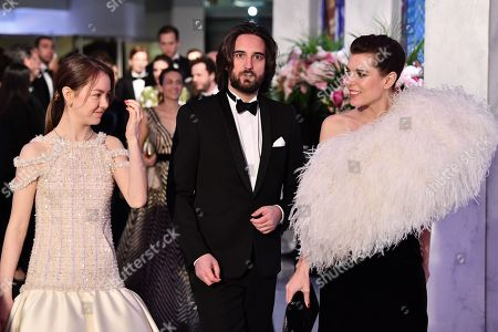 Princess Alexandra of Hanover, Dimitri Rassam and Charlotte Casiraghi