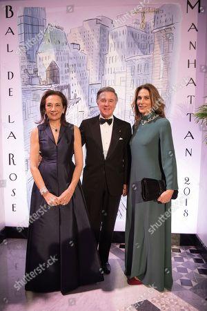 Princess Antonella of Orleans Bourbon, Alberto Repossi and Giovanna Repossi