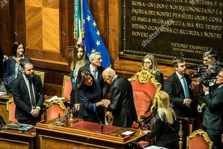 Maria Elisabetta Alberti Casellati, Giorgio Napolitano