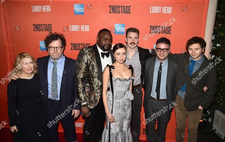Carole Rothman, Kenneth Lonergan, Brian Tyree Henry, Bel Powley, Chris Evans, Michael Cera and Trip Cullman