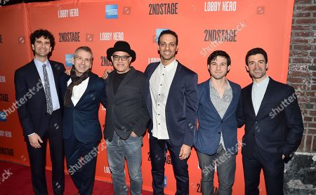 John Cariani, David Cromer, David Yazbek, and Adam Kantor