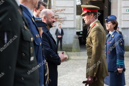 Etienne Schneider and Grand Duke Henri of Luxembourg