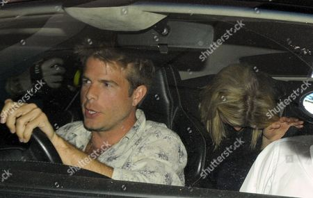 Chelsy Davy with nightclub owner Nick House