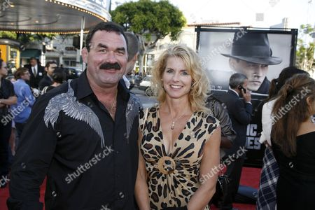 Stock Image of Don Frye and wife Molly