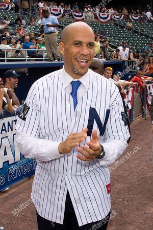 New Jersey Mayor Cory A  Booker