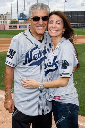 Frank Vincent and Danielle Staub